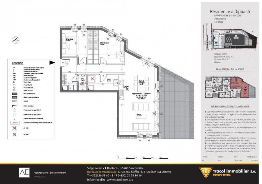 wohnung kaufen 2 schlafzimmer 91.62 m² dippach foto 4