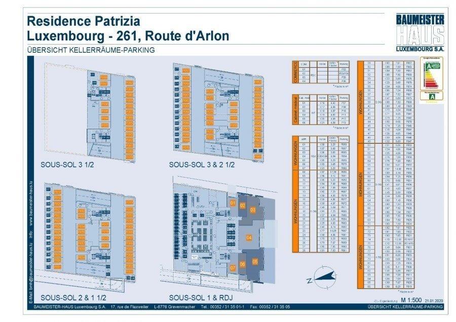 acheter penthouse 1 chambre 61.48 m² luxembourg photo 6