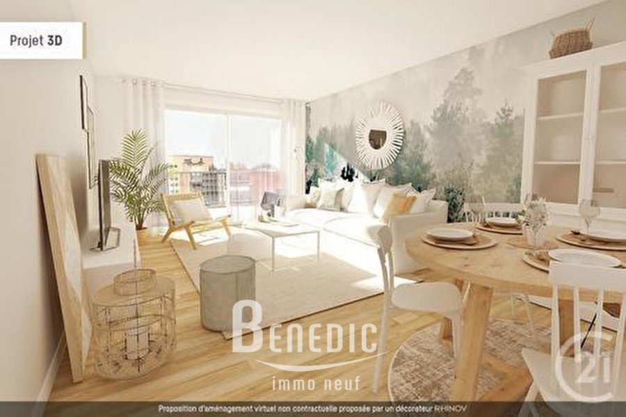 acheter appartement 3 pièces 67.57 m² metz photo 1