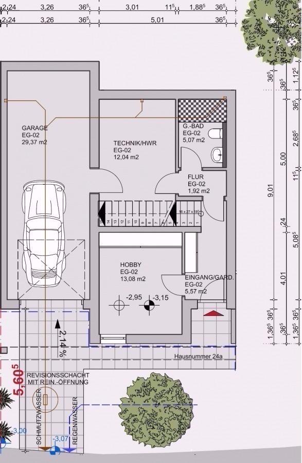 doppelhaushälfte kaufen 7 zimmer 171 m² bollendorf foto 3