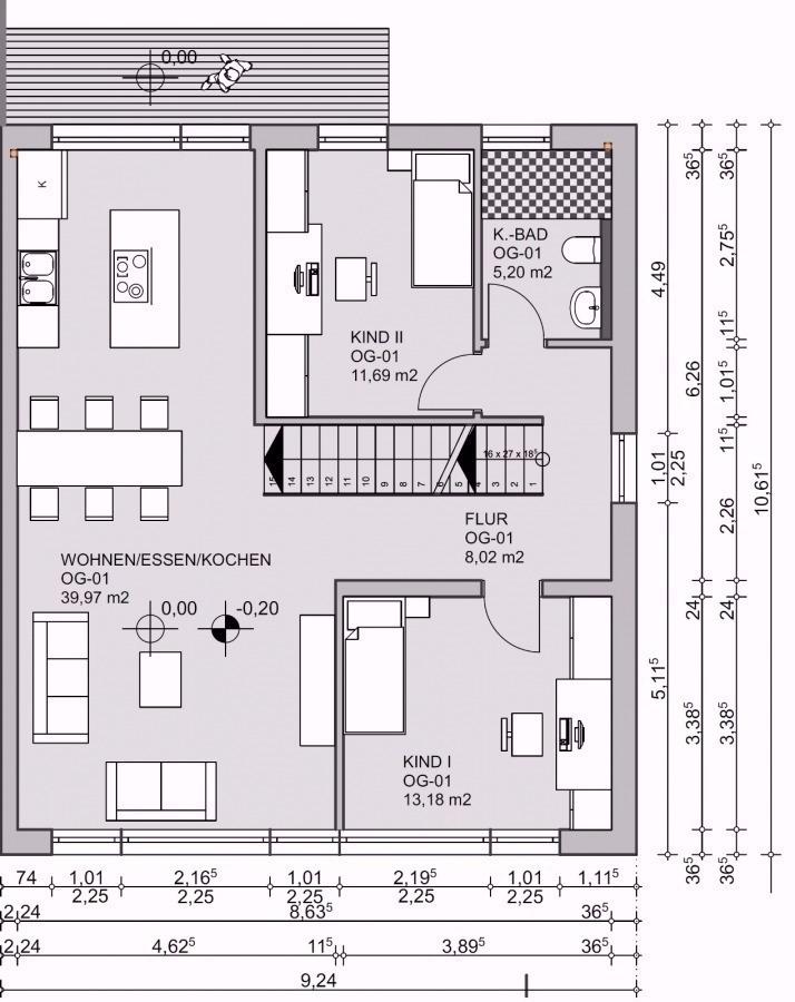 doppelhaushälfte kaufen 7 zimmer 171 m² bollendorf foto 4
