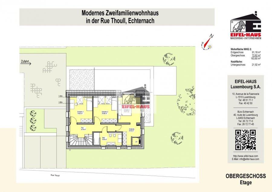 acheter duplex 4 chambres 163 m² echternach photo 4