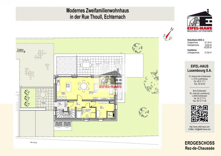 acheter duplex 4 chambres 163 m² echternach photo 3