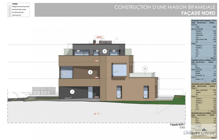 acheter maison jumelée 3 chambres 180 m² luxembourg photo 7