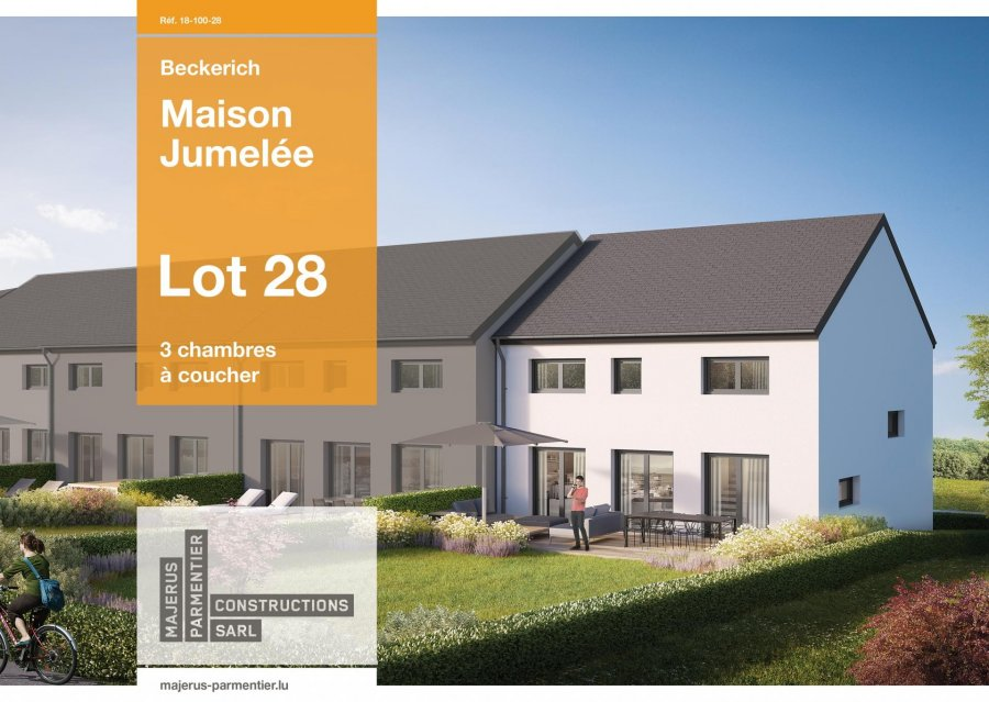 acheter maison jumelée 3 chambres 163.6 m² beckerich photo 2