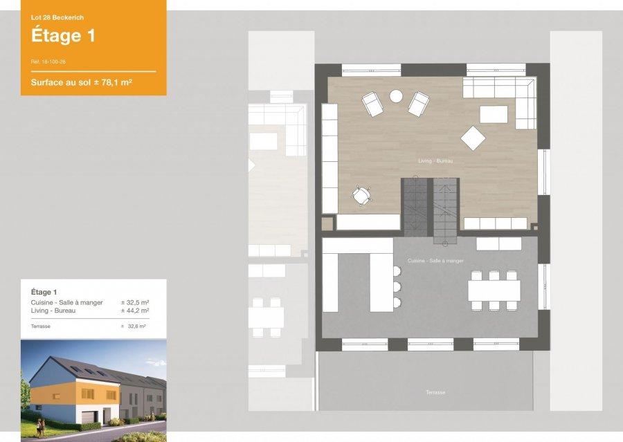 acheter maison jumelée 3 chambres 163.6 m² beckerich photo 4