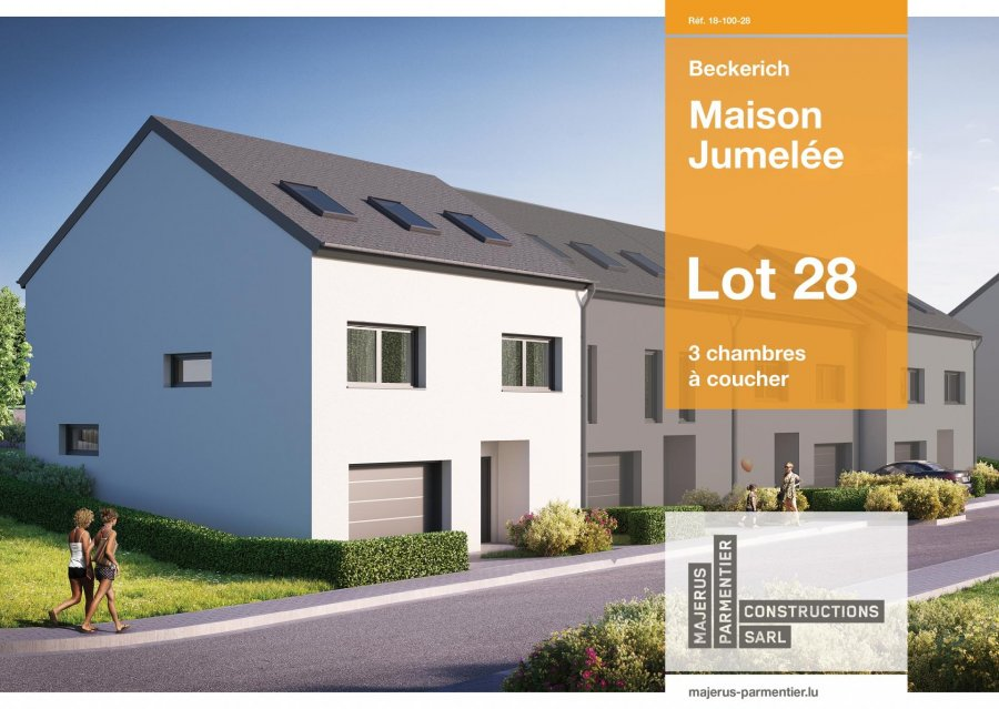 acheter maison jumelée 3 chambres 163.6 m² beckerich photo 1