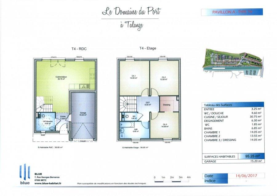 acheter maison 5 pièces 95 m² talange photo 2