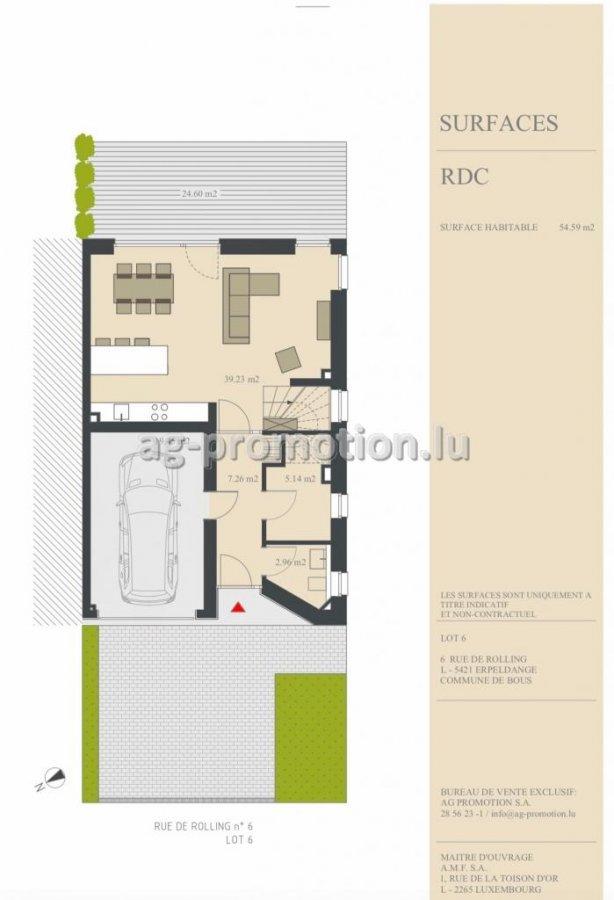 acheter maison individuelle 3 chambres 180 m² erpeldange (bous) photo 2