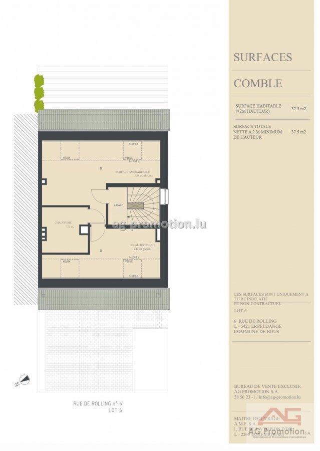 acheter maison individuelle 4 chambres 182.02 m² erpeldange (bous) photo 4