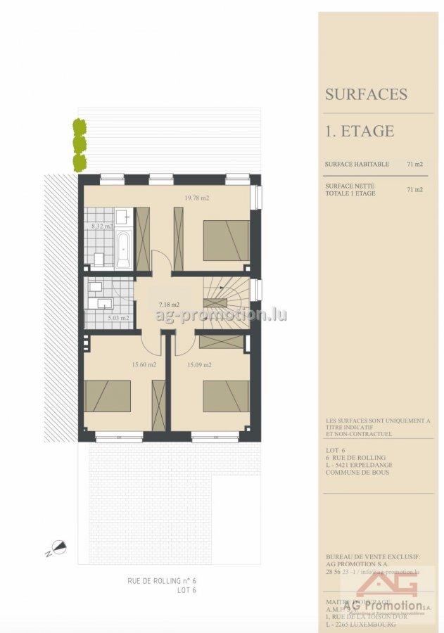 acheter maison individuelle 4 chambres 182.02 m² erpeldange (bous) photo 3