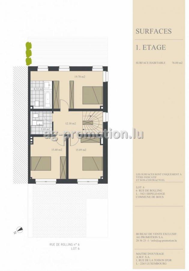 acheter maison individuelle 3 chambres 180 m² erpeldange (bous) photo 3