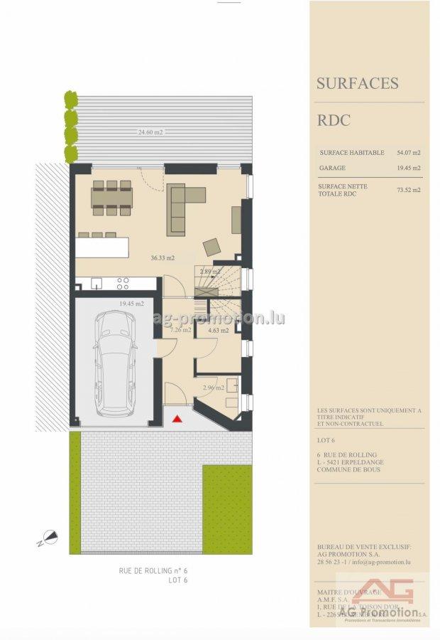 acheter maison individuelle 4 chambres 182.02 m² erpeldange (bous) photo 2