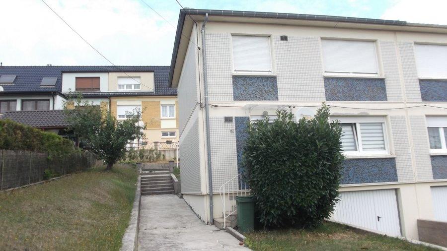 Maison jumelée à vendre F5 à Hayange-Marspich