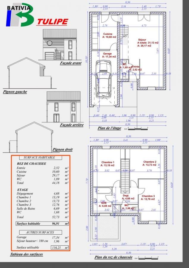 acheter maison individuelle 6 pièces 96.91 m² terville photo 3