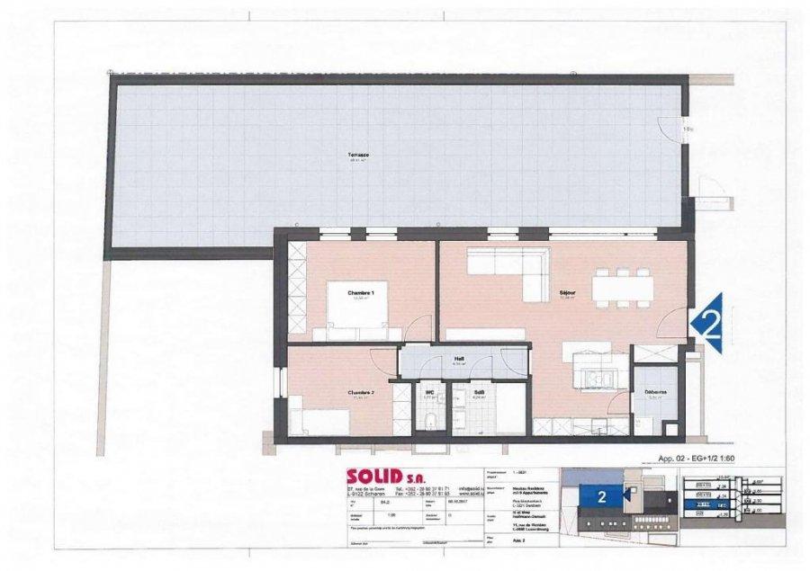 louer appartement 2 chambres 78.48 m² berchem photo 6
