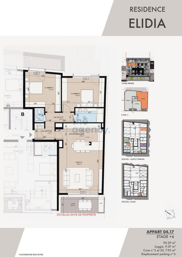 acheter appartement 2 chambres 93.92 m² luxembourg photo 2