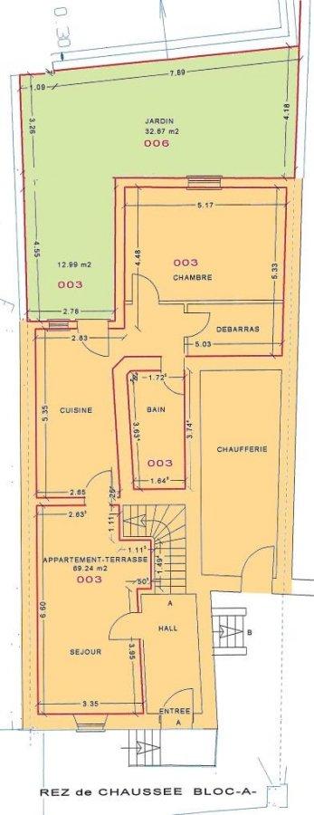 Maison mitoyenne à vendre 2 chambres à Consdorf