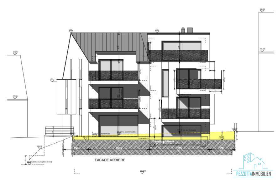 acheter appartement 1 chambre 80.37 m² dudelange photo 2