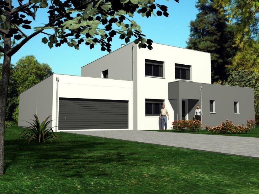 Terrain + Maison à vendre F6 à Évrange