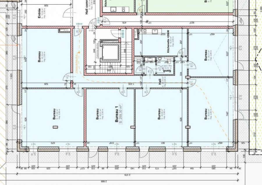 büro kaufen 0 schlafzimmer 259.3 m² wemperhardt foto 3