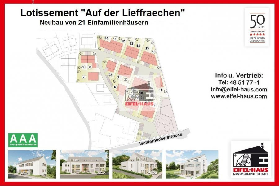 acheter terrain constructible 0 chambre 0 m² manternach photo 1
