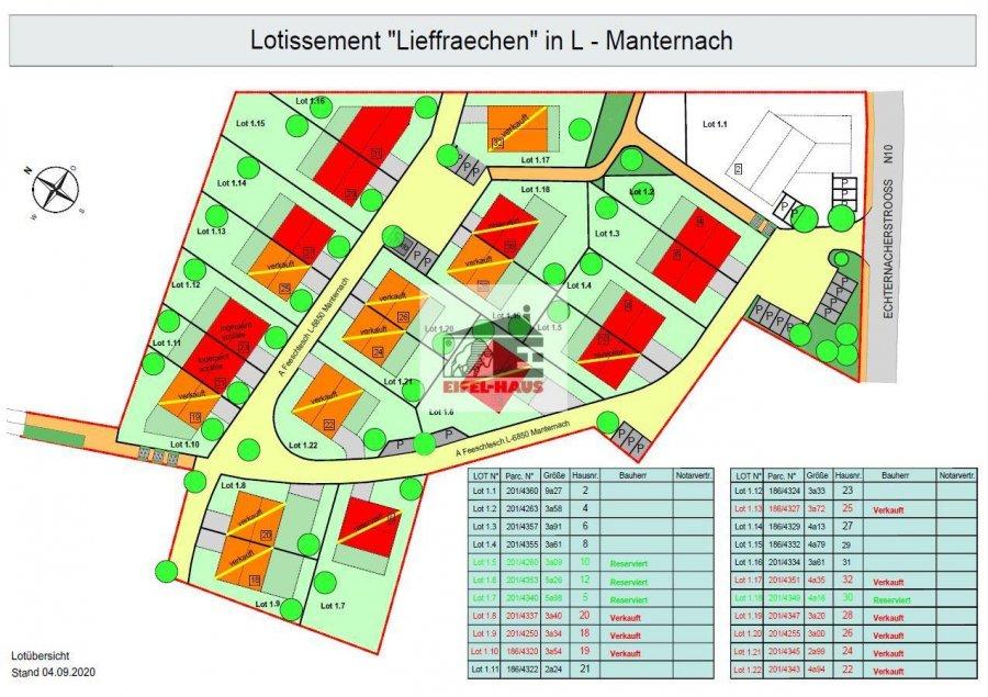 acheter terrain constructible 0 chambre 0 m² manternach photo 2