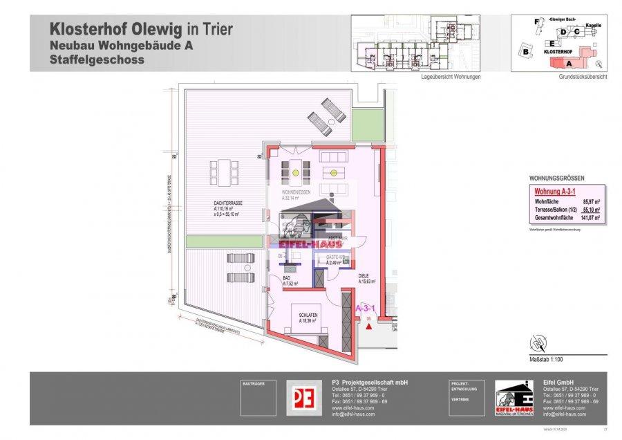 penthouse-wohnung kaufen 0 zimmer 141.07 m² trier foto 3