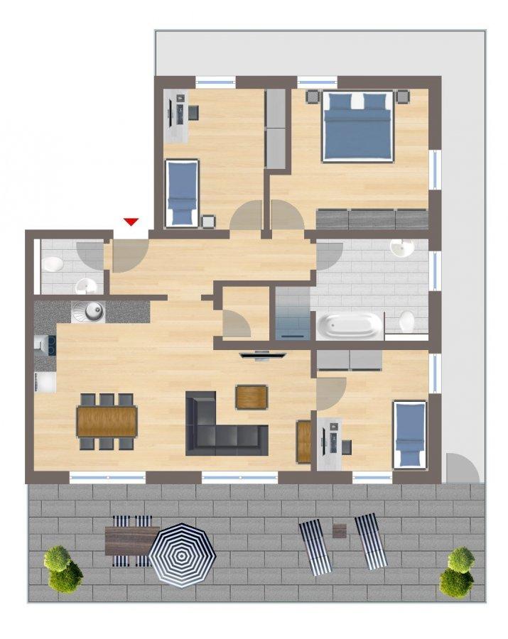 penthouse-wohnung kaufen 4 zimmer 105.86 m² echternacherbrück foto 2