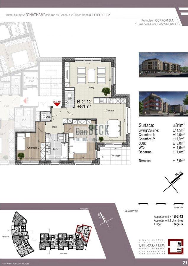 apartment for buy 2 bedrooms 85.06 m² ettelbruck photo 2