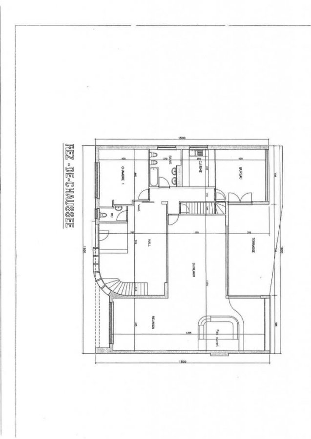 louer bureau 0 chambre 600 m² mamer photo 7