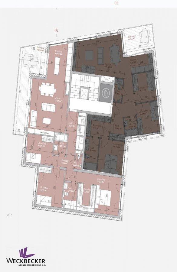 acheter appartement 3 chambres 113.84 m² mondercange photo 3