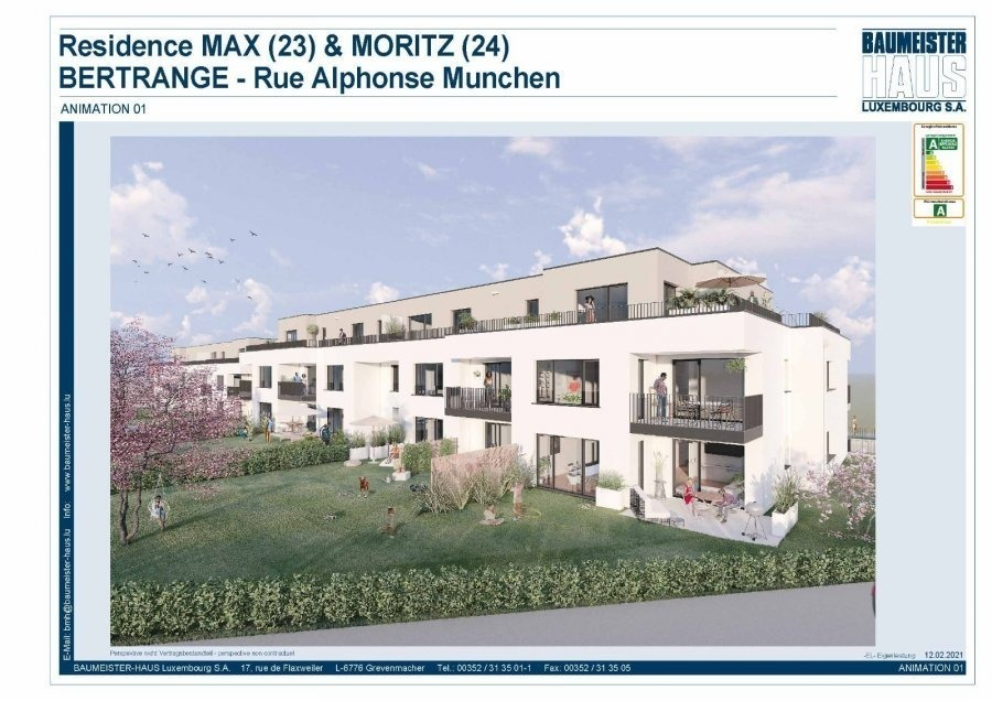 acheter appartement 2 chambres 94.27 m² bertrange photo 1