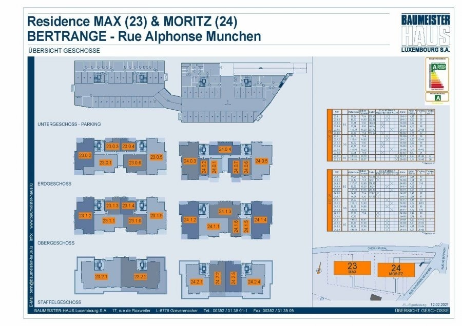 acheter appartement 2 chambres 94.27 m² bertrange photo 5