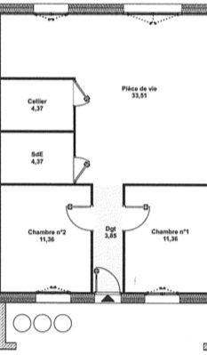 acheter maison 3 pièces 69 m² gorcy photo 3