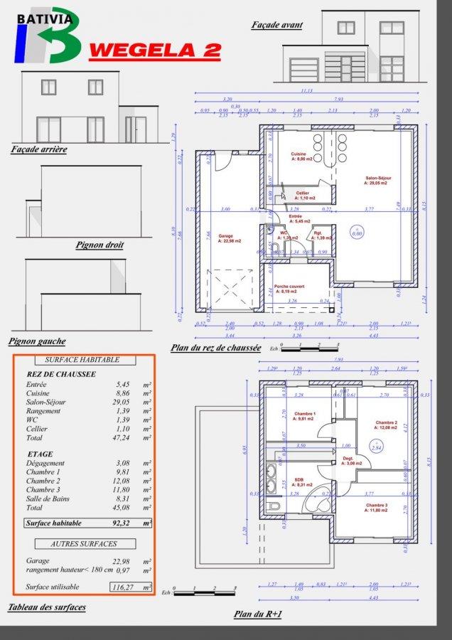 acheter maison individuelle 6 pièces 103 m² mécleuves photo 5