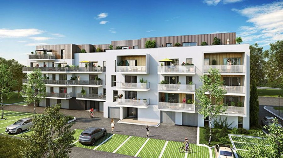 acheter appartement 3 pièces 59.26 m² thionville photo 2