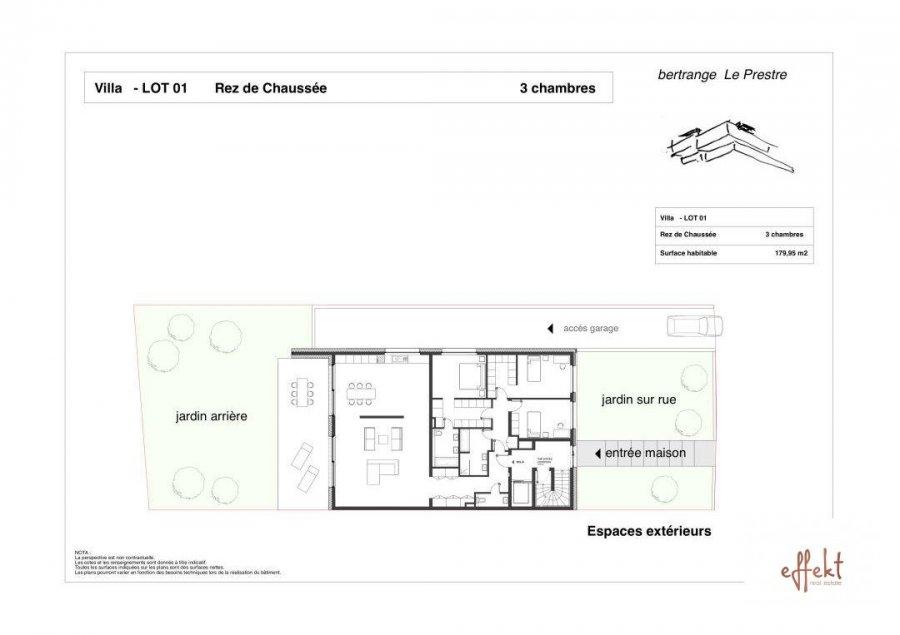 acheter appartement 3 chambres 179.95 m² bertrange photo 2