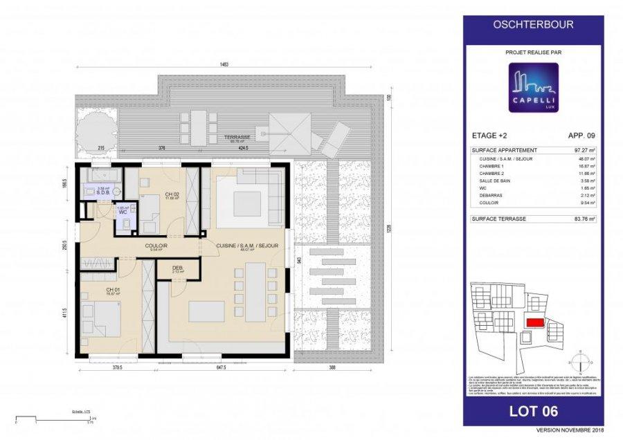 acheter appartement 2 chambres 92.27 m² differdange photo 7