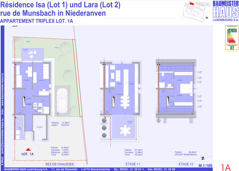 apartment for buy 3 bedrooms 109.32 m² niederanven photo 4