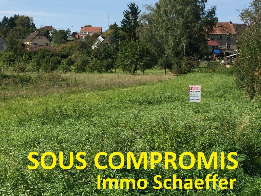 Terrain constructible à vendre à Voellerdingen