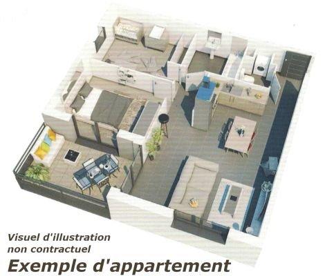 acheter appartement 3 pièces 48 m² longlaville photo 4