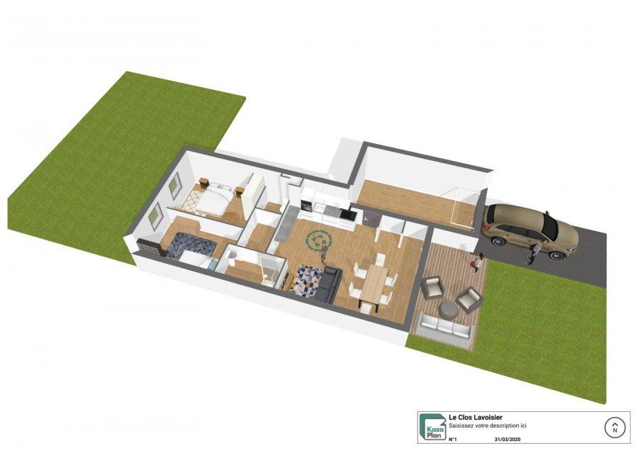 acheter appartement 3 pièces 68 m² tomblaine photo 1