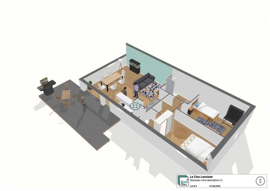 acheter appartement 3 pièces 68 m² tomblaine photo 2