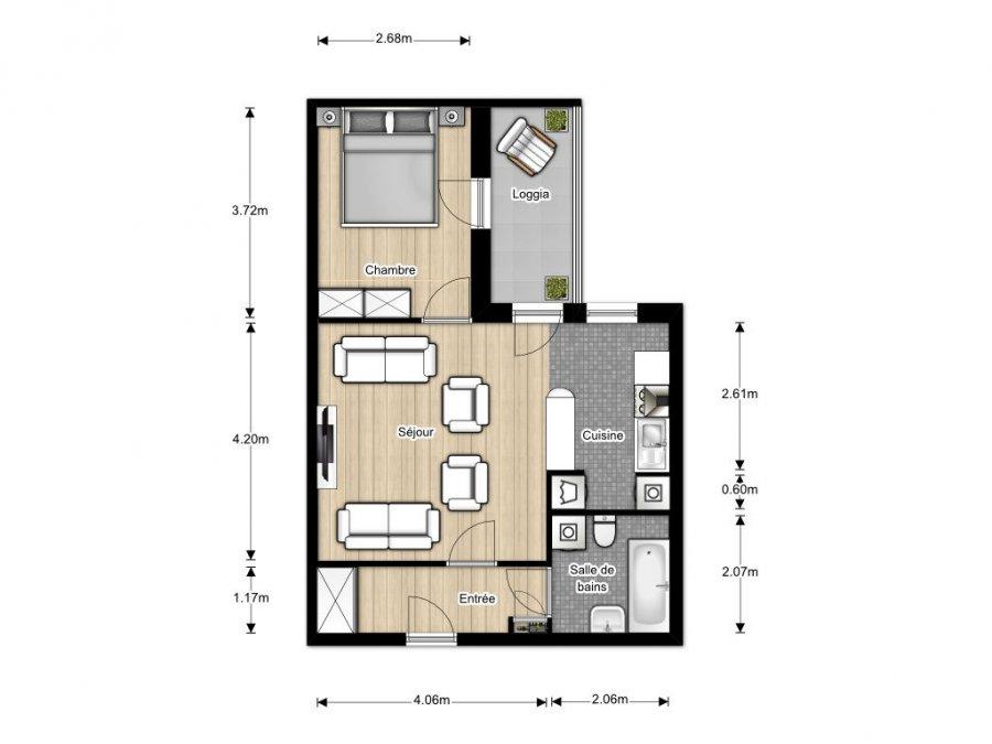 acheter appartement 2 pièces 43 m² woippy photo 3