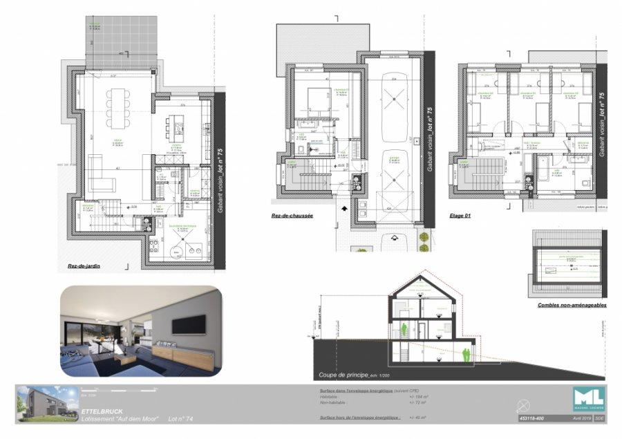 acheter maison 4 chambres 184 m² ettelbruck photo 4