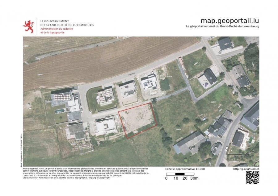 building land for buy 0 bedroom 1075 m² boulaide photo 3