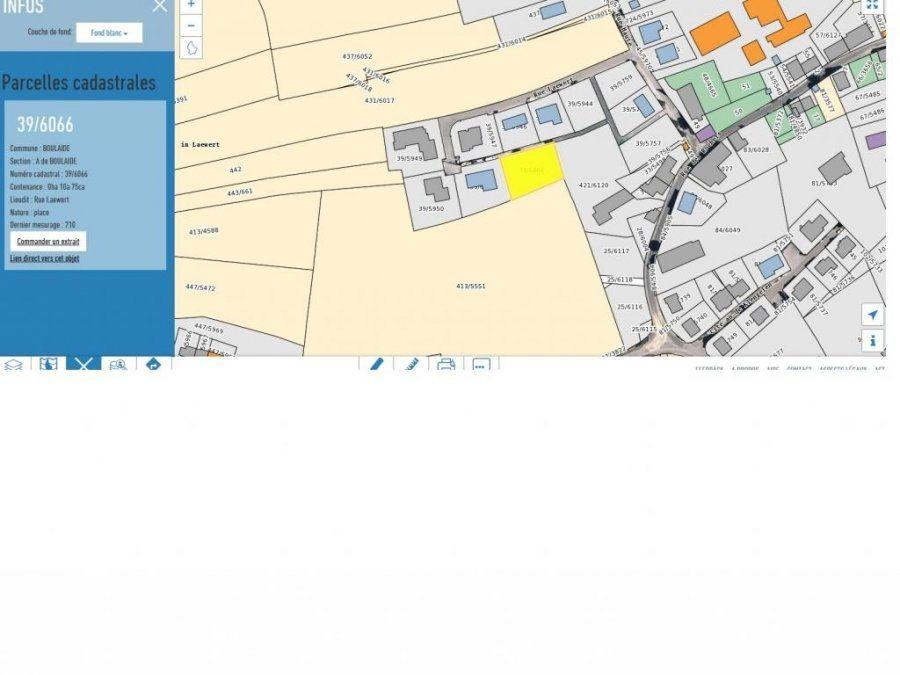 acheter terrain constructible 0 chambre 1075 m² boulaide photo 1