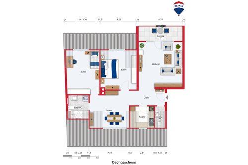 wohnung kaufen 4 zimmer 80 m² saarbrücken foto 3