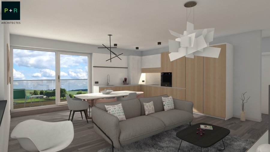 acheter duplex 3 chambres 108.16 m² capellen photo 4